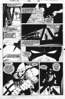 Daredevil issue 300 interior page by Lee Weeks and Al Williamson Comic Art