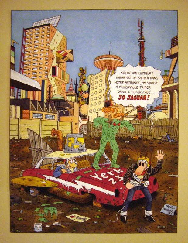Kebra - Vol. 1 à 5 (1981- 1985) [Tramber et Jano, Les Humanoïdes Associés] TRAMBJANO