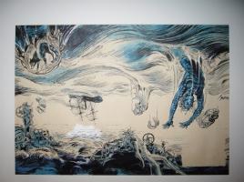 COUVERTURE DU FICTION SPECIAL#3 PAR FOREST Comic Art