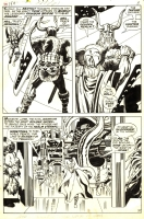 Jack KIRBY 1968 THOR 159 pg. 4 with Heimdall in ASGARD Comic Art