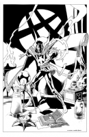 Dr Strange Commission by Kevin Nowlan Comic Art
