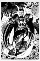 Dr Strange by Garry Leach, Comic Art