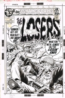 Our Fighting Forces #134 the Losers! Comic Art