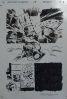 Jason Armstrong_Lobster Johnson #3, page 9 Comic Art