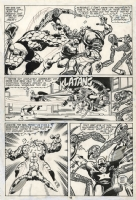 Captain America #249 - p15 - Byrne/Rubinstein Comic Art