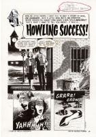 CREEPY #3:  Howling Success,  page 1 Comic Art