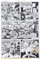 Captain America #205 Page 2 Jack Kirby Comic Art