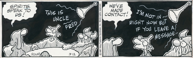 Hagar The Horrible, 1987, strip 3 Comic Art