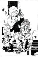 Eduardo Barreto - Cobb #1, Comic Art