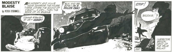 Modesty Blaise strip 1557 -