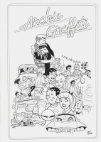 Jeff Shultz - Archie Graffiti (American Graffiti tribute), Comic Art