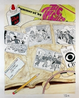 Jeff Shultz - The Archies in the Summer of '69, Comic Art