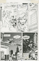 Marvel Fanfare #19 pg 27 Comic Art
