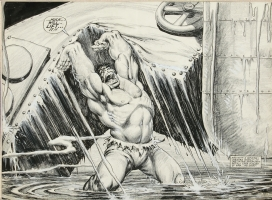 Hulk (mag ) #20 pgs 34 & 35  Comic Art