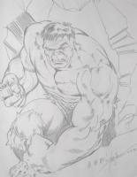 Hulk - Steve Erwin Comic Art