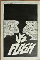 Flash 323 by Carmine Infantino and Rodin Rodriguez - UNFRAMED Comic Art