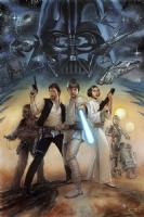 Star Wars: A New Hope Comic Art