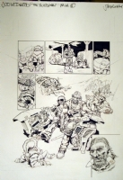 Judge Dredd - The Good Man - page 6 Comic Art