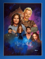 Spaced US DVD cover Comic Art