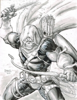 Taskmaster by Freddie Williams Comic Art