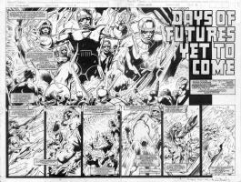 Alan Davis Excalibur#67pg02-3 Comic Art