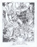 Allen Bellman Mystic 3 redo Comic Art