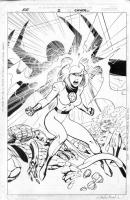 Alan Davis Fantastic Four #2 Cover Comic Art