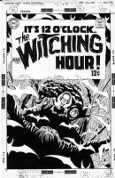 Toth unpublished Witching Hour cover Comic Art