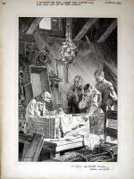 Wrightson Frankenstein Plate Comic Art