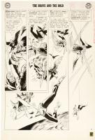Joe Kubert Brave and Bold 43 Hawkman page Comic Art