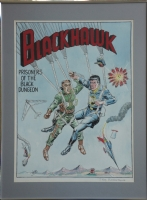 Bill Ward Blackhawk 92 redo Comic Art