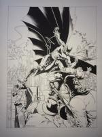 Jim Steranko Detective 33  (redoing old series Detective 27) Comic Art