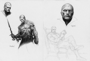 Kayanan Doc Savage Comic Art