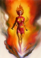 Rachel Summers - Phoenix Comic Art
