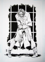 Dark knight Joker by Cammo  Comic Art