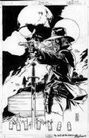Preacher #66 Saint of Killers Pinup Comic Art