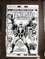 Fantastic Four #46 with amateur restoration Comic Art