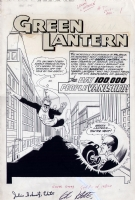 Green Lantern: Sinestro First Appearance Comic Art