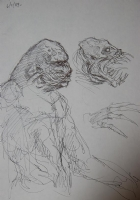 Rawhead Rex 2 Comic Art