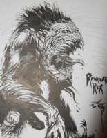 Rawhead Rex 8 Comic Art