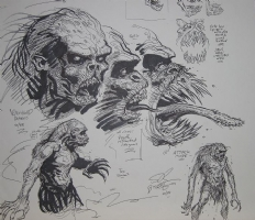 Rawhead Rex 11 Comic Art