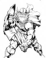 Viking  Comic Art