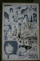 PICHARD Lolly Strip 1967 Comic Art