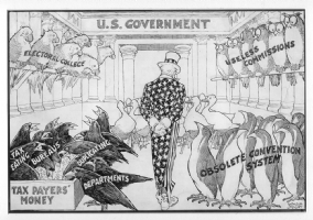 Winsor Mccay Political Cartoon Comic Art