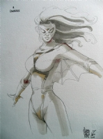SpiderWoman - Giuseppe Camuncoli Comic Art