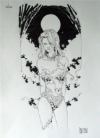 Poison Ivy - Camuncoli Comic Art