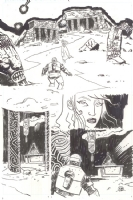 Lobster Johnson: IP 2 p.12 Comic Art