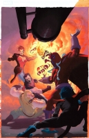 Esad Ribic, Uncanny X-Force 11 Cover Comic Art