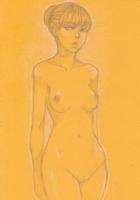 Anime Fantasy Female Nude 6 Comic Art