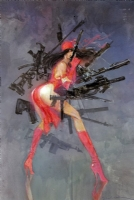 Elektra by Bill Sienkiewicz Comic Art